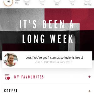 CIBO Espresso App